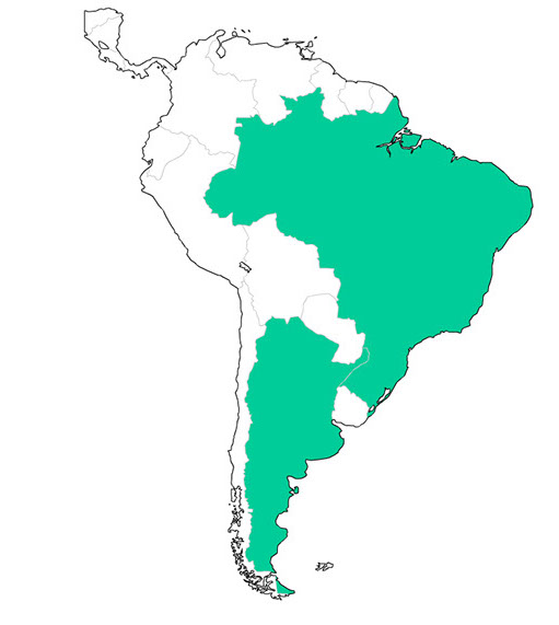 Distributors South America